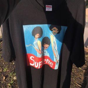 Supreme Group Tee Black XL
